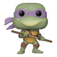 Boneco Funko Pop Tv Donatello 17 Tartarugas Ninjas Retro Toy