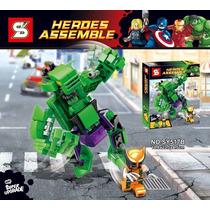 Hulk Vs Wolverine Combate Mortal Marvel Super Heroes Buster