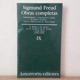 Tomo Ix De Obras Completas De Sigmund Freud