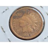 Raridade - Antiga Moeda De One Cent U.s.a Para Coleção 1903
