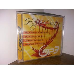 Cd Harpa Cristã Em Mp3 Com 400 Hinos + 300 Play Back,s