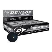 Pelota De Squash Dunlop Doble Punto Amarillo Caja X 12