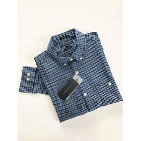 Camisa Tommy Hilfiger Original Custom Fit Ropa Masculina Camisas ... 8e328ae6908f5