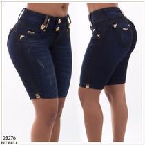 Bermuda Pit Bull Jeans Modela Bumbum Estilo Rhero Bojo 23276