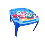 Mesa (mesinha) Infantil + 1 Cadeiras Carros - Imperdível!