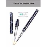 Pincel Liner Profesional Modelo 1008