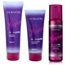 Lowell Liso Mágico + Shampoo + Condicionador Oferta Limitada