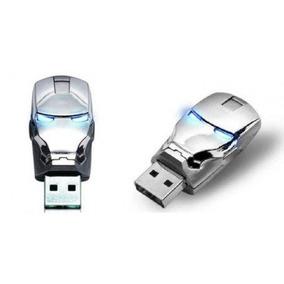 Pendrive Homem De Ferro Capacete 16gb Usb Flash Drive 2.0 -