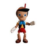 Pinocho De Madera Tallado A Mano Envío Gratis!!!