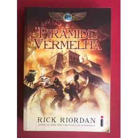 Livro - A Pirâmide Vermelha - Rick Riordan - Ed. Intrínseca