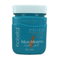 Mascara Esfoliação Capilar Mar Morto Hobety 750g