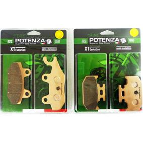 Kit Pastilha Dianteira Potenza Xtz 250 Lander 250 Ate 15