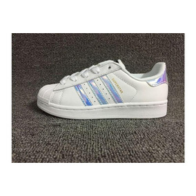 adidas Superstar /violeta Plateado - China Talle 37