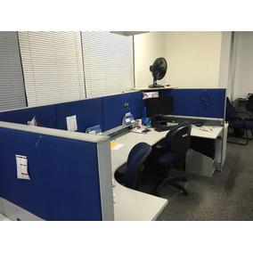 Estações De Trabalho Mesa Escritorio Em Ilha Para 4 Pessoas