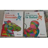 Libros Usados De Salud E Historia De Venezuela De Santillana
