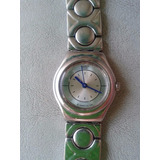 Reloj Dama Swatch Irony Acero Inoxidable Plateado Import