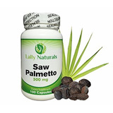 Saw Palmetto Complex For Prostate Health 500mg (100 Count) ¿