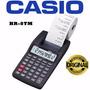 Calculadora Impresora Casio Hr-8tm 12 Digitos Portatil Pilas