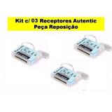 Kit 3 Receptores Controle Remoto P Ventilador Peça Rep At1