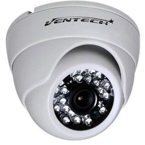 Camara Seguridad Domo Infrarojo 24led 800tvl Cmos Audio Cctv