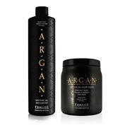 Shampoo Y Masacara Fidelite Argan / Champú Y Baño De Crema