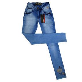 Calça Jeans Feminina Pit Bull Pitbull Skinny C/ Bojo Stretch