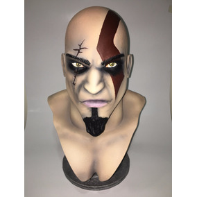Busto Kratos Escala 1:1 (36cm) God Of War - Impressão 3d