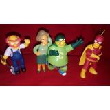 Simpsons 4 Figuras Original Matt Groening Adorno De Tortas