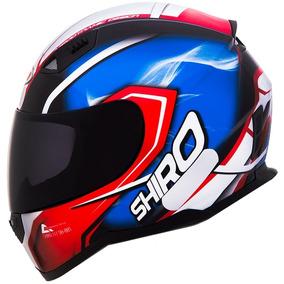 Capacete Shiro Sh-881 Motegi France - Tam: 60