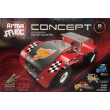 Armamec Concept Tipo Mecano 230 Piezas C/herramientas