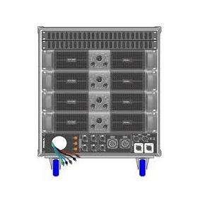 Amplificador Proel Rack Lineal Axracks3 Confirmar Existencia