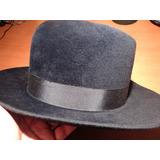 Sombrero Finisimo Ingles Vintage Con Caja Original