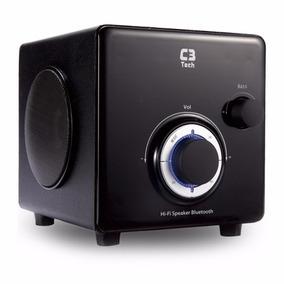 Caixa De Som Subwoofer C3 Tech 2.1 Bluetooth Preto Sp-330b