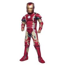 Disfraz Iron Man Traje Niño Avengers Halloween