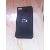 Tapa Trasera Telefono Blackberry Z10 Negra