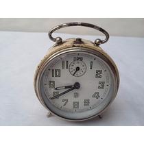 Antiguo Reloj Sml Despertador Funciona Perfecto Una Joyita!!