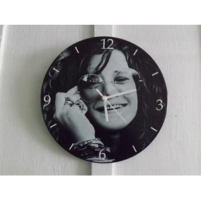 Relógio De Parede Em Vinil, Janis Joplin