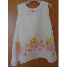 Vestido Flores Sublimado Para Bebé