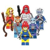 Figuras Thundercats Set 6 Piezas Compatibles Con Legos