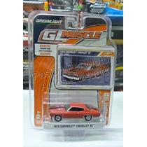 1:64 Chevrolet Chevelle Ss 1970 Rojo Greenlight Gl Muscle