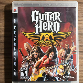 Jogo Guitar Hero Aerosmith Ps3 - M. Fís Seminovo