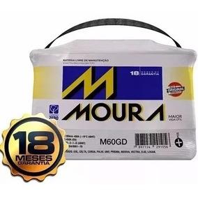 Bateria Moura 60 Amperes Nova Original