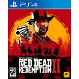 Red Dead Redemption 2 Físico Ps4 + Artbook Exclusivo Stock!