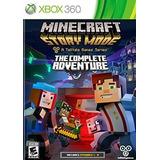 Minecraft: Modo Historia - Aventura Completa Xbox 360