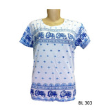 Baby Look Camiseta Feminina Indiana Yoga Hippie Elefantes