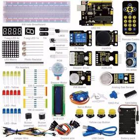 Arduino Uno R3 + Kit Avanzado Para Aprendizaje