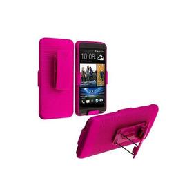 Motorola Iron Rock Funda Holster Clip 3 En 1 Rosa Xt626