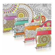 Colorir Mandalas Flores Estampas Desenhos Livro Colorir Kit4