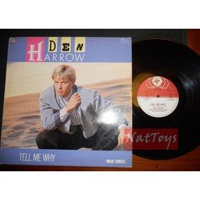 Vinilo Maxi 12 Den Harrow - Tell Me Why Italo Disco High Nrg