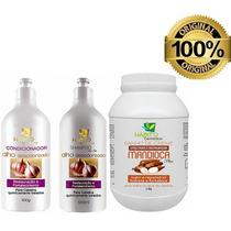 Kit Hidratação Profissional Alho Desodorizado + Mandioca